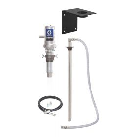 Graco LD Series 3:1 Stationary 1040 Litre Wall Mount Oil Pump Package - BSPP - 24H696