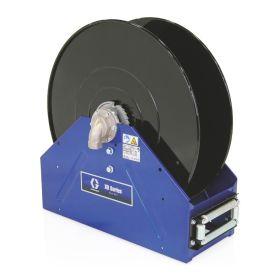 """Graco XD50, Air/Water/Diesel Fuel, 25.4mm (1"""") Inlet, Bare Reel 25mm X 30m (1"""" X 100') Capacity, NPT, Metallic Blue - 24P455"""