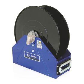 """Graco XD50, Diesel Fuel, 38mm (1.1/2"""") Inlet, Bare Reel (38mm X 15m (1.1/2"""" X 50') Capacity), NPT, Metallic Blue - 24P467"""