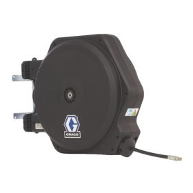 """Graco LD Series, Air/Water/Antifreeze/WWS, 13mm (1/2"""") Inlet, 10mm X 11m (3/8"""" X 35') Hose, BSPP, Fixed Ceiling/Wall Mount, Inlet Kit, White - 24Y204"""