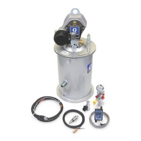 Graco Dyna-Star 24 VDC HP Pump, AFSO, Low Level, GLC 2200, Wiring Harness, Cables, Pressure Switch, Remote Fill Manifold for 27kg (60lb) - 77X960