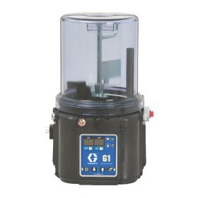 Graco G1 Plus Grease Lubrication Pump, 24 VDC, 4 Litre, DIN, Wiper, Low Level - 94G028