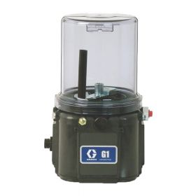 Graco G1 Standard Grease Lubrication Pump, 24 VDC, 8 Litre, DIN, Wiper, Low Level - 94G041