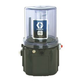 Graco G3 Standard Grease Lubrication Pump, 90-240 VAC, 2 Litre, External Low Level, CPC - 96G005