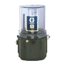 Graco G3 Standard Grease Lubrication Pump, 90-240 VAC, 2 Litre, External Low Level, DIN - 96G007