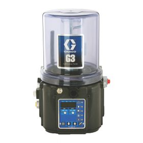 Graco G3 Pro Grease Lubrication Pump, 24 VDC, 2 Litre, Low Level with Controller, Remote Manual Run, CPC - 96G011