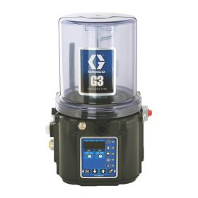Graco G3 Pro Grease Lubrication Pump, 24 VDC, 4 Litre, Low Level with Controller, Remote Manual Run, CPC - 96G068