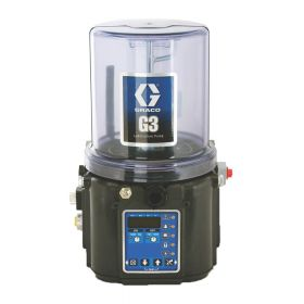 Graco G3 Pro Grease Lubrication Pump, 24 VDC, 8 Litre, Low Level with Controller, Remote Manual Run, CPC - 96G069