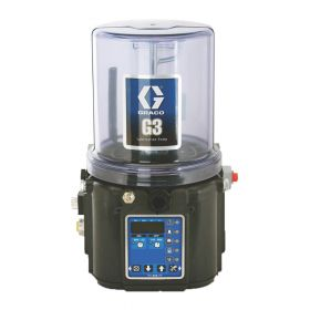 Graco G3 Pro Grease Lubrication Pump, 90-240 VAC, 8 Litre, Low Level with Controller, DIN - 96G076