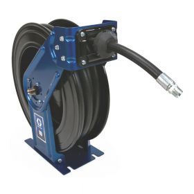 """Graco XD3, Oil, 19mm (3/4"""") Inlet, 19mm X 15m (3/4"""" X 50') Hose, NPT, Truck/Bench Mount, Yellow - HSMD5F"""